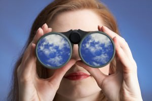 bigstockphoto_Clear_Sighted_Woman_1658496