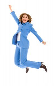 bigstockphoto_Business_Woman_Jumping_3955122