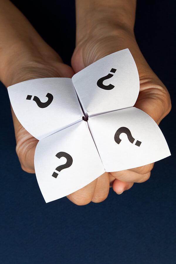 Paper Fortune Teller Template