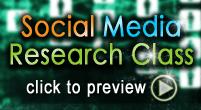 Social Media Research Class